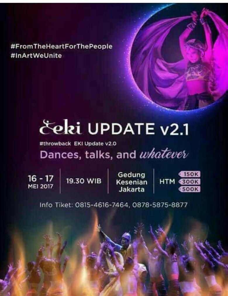 EKI Dance Company Pentaskan Ulang EKI Update v.2.1