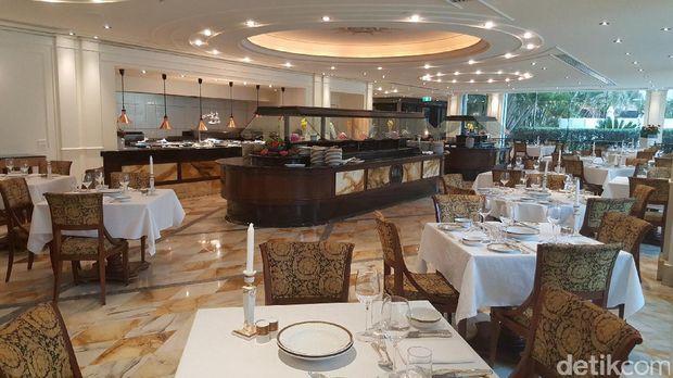 Restoran mewah di Palazzo Versace (Fitraya/detikTravel)