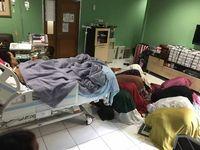 Suasana ruang perawatan Julia Perez.