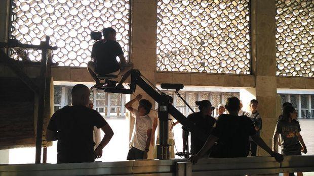 Syuting 'Guru Ngaji & Badut Maksimal'