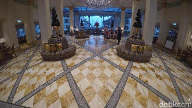 Lobi hotel yang mewah (Fitraya/detikTravel)