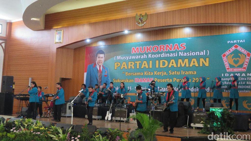 Rhoma Irama Sampaikan Visi Misi Partai Lewat Lagu