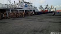 24 Kapal Ikut Latihan Penanggulangan Pencemaran Laut di Bali