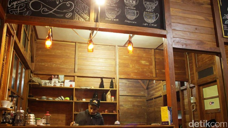 Foto: Pamit Coffee di Dieng (Randy/detikTravel)