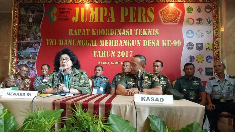 TNI Manunggal Gandeng Kemenkes Bangun 1 Juta Jamban