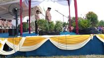 Buka Kemah Madrasah Nasional, Menag: Pramuka Harus Dilestarikan