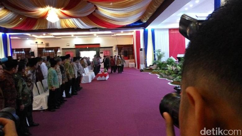 Presiden Jokowi Hadiri Kongres ke-XIX PMII di Palu