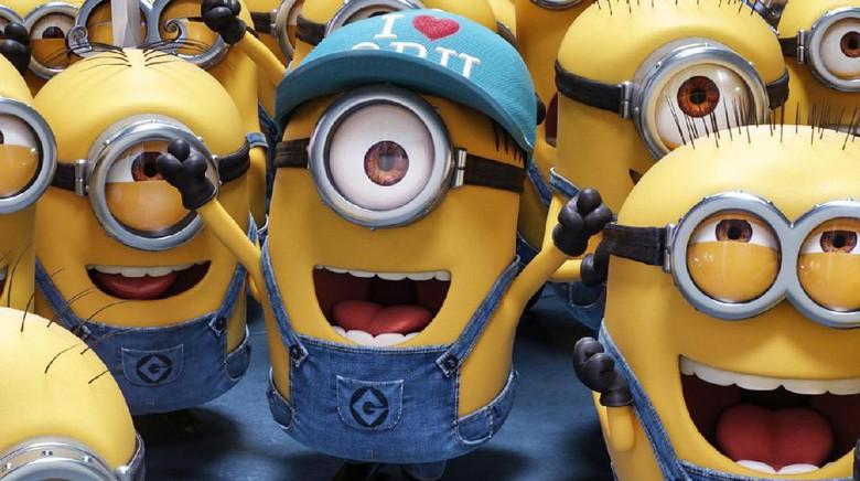 Aksi Para Minions di Klip Terbaru Despicable Me 3