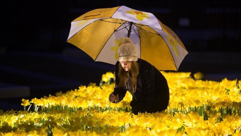 Foto: Pengunjung di The Garden of Light (Marie Curie)