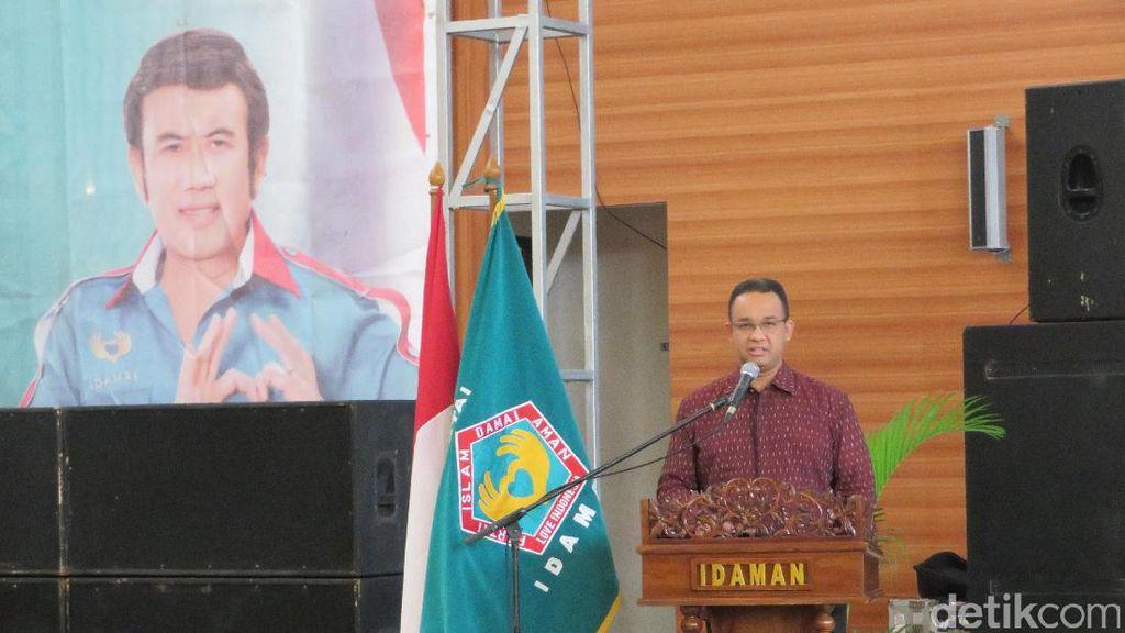 Hadiri Mukornas Partai Idaman, Anies Bicara Kemajemukan Indonesia