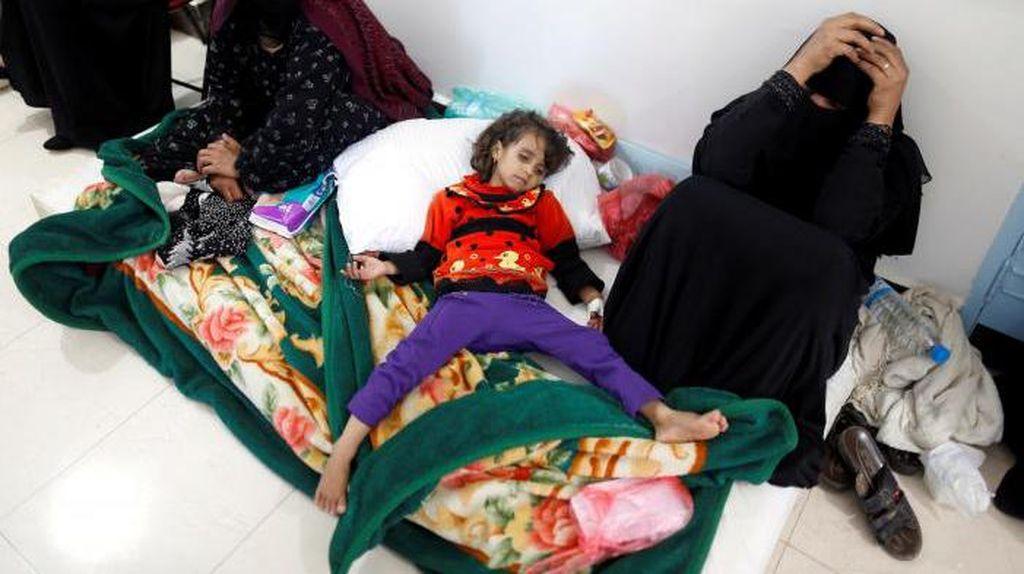 Wabah Kolera Tewaskan 180 Orang, Yaman Minta Bantuan Internasional