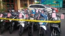 Maling Motor di Bekasi Ditembak Polisi