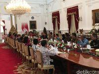 Pertemuan Jokowi dengan pertemuan media massa
