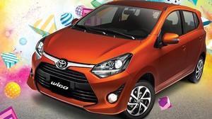 Toyota Agya di Filipina Masih 1.000 cc