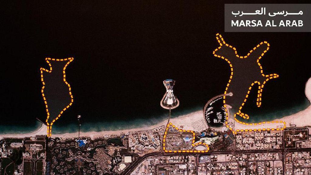 Dubai Lagi-lagi Mau Reklamasi Bikin Pulau Mewah