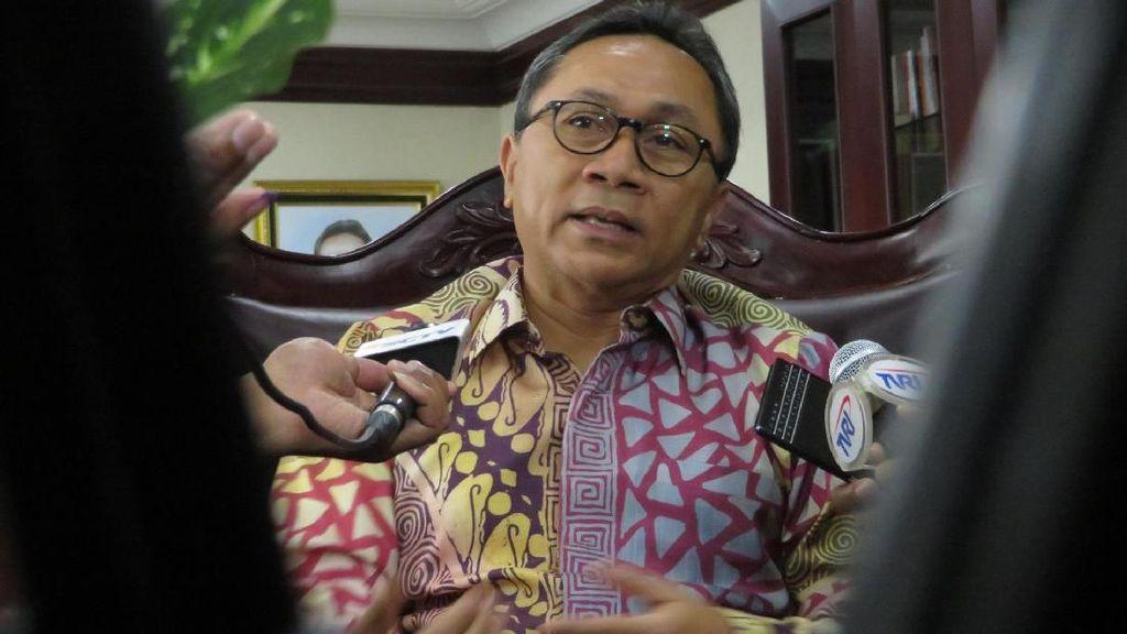 Jokowi dan JK Beda Pilihan di Pilgub, Zulkifli Hasan: Itu Lumrah