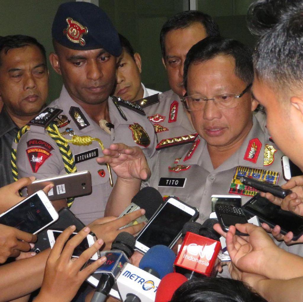 Kapolri: Bahan Peledak Bom Kp Melayu Kategori Mother of Satan