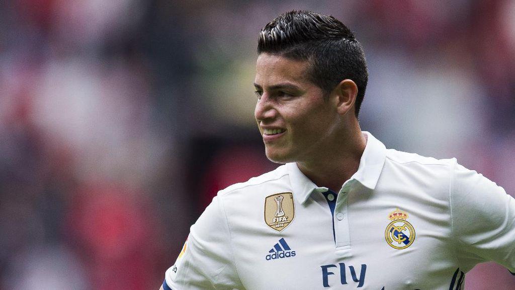 Bacca Isyaratkan James Akan Tinggalkan Madrid