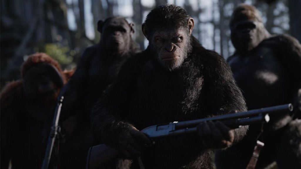 Trailer Final War for the Planet of the Apes, Perang Para Kera vs Manusia
