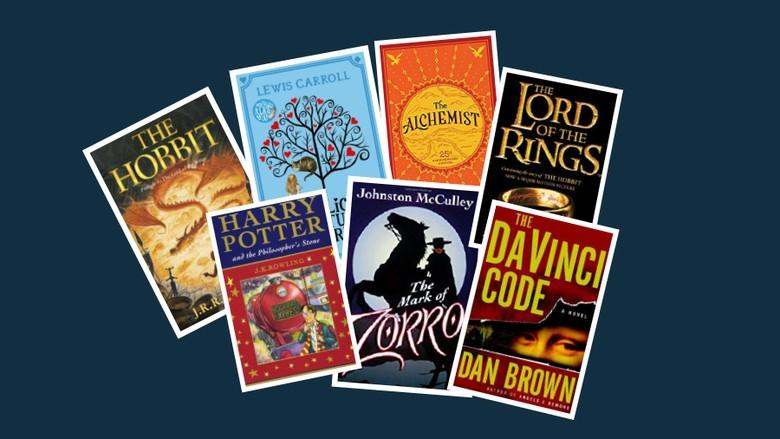7 Buku Fiksi Terlaris Dunia