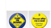 Lencana untuk Ibu Hamil Agar Mudah Dapat Tempat Duduk di Kereta