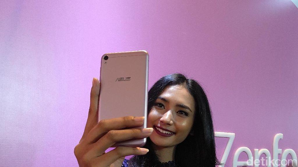 Zenfone Live, Ponselnya Penyuka Video Selfie