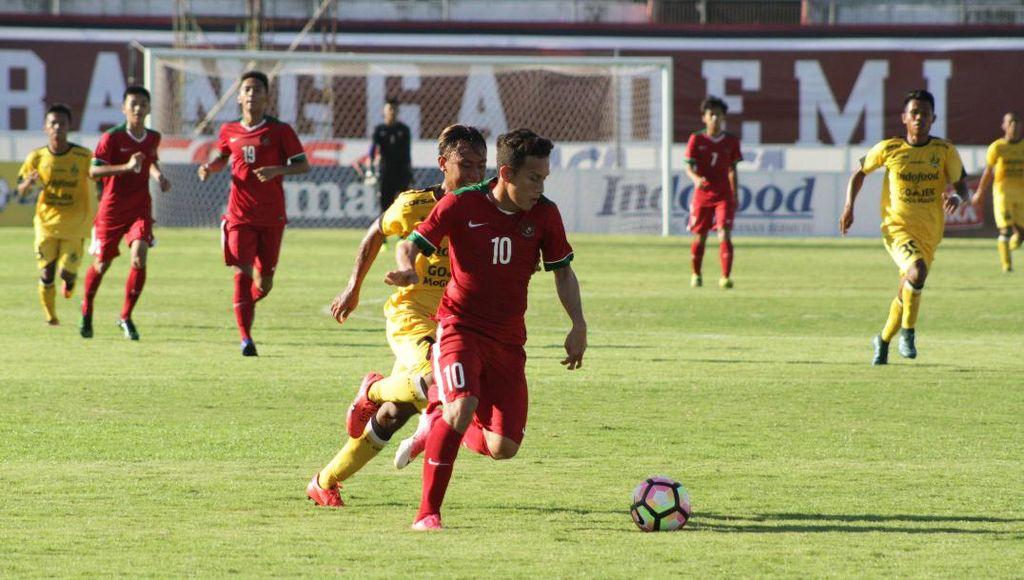 Timnas U-19 Tekuk Malang United 5-0 di Laga Ujicoba