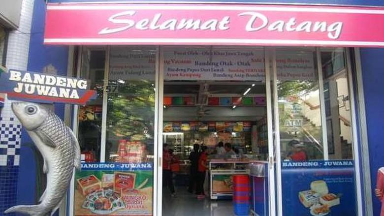 Pusat oleh-oleh Bandeng Juwana Semarang (d/traveler)
