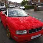 Furrari, Modifikasi Audi Berbulu Elmo