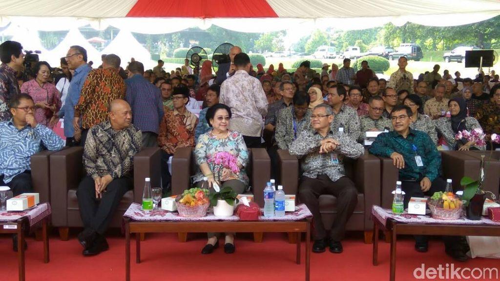 Megawati Hadiri Peringatan 200 Tahun Kebun Raya Bogor
