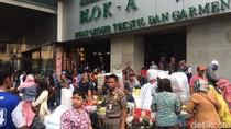 PKL Tanah Abang Dagang Lagi di Jalan, Satpol PP Turun Tangan
