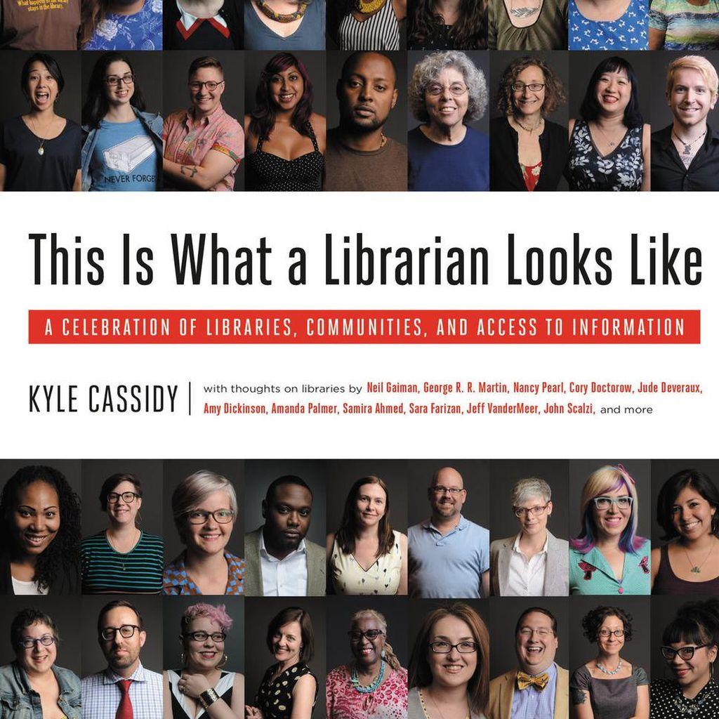 Fotografer Asal Amerika Abadikan Ratusan Wajah Pustakawan dalam Sebuah Buku