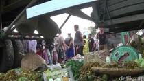Truk Tabrak Pasar di Brebes, 1 Pedagang Tewas dan 4 Orang Luka