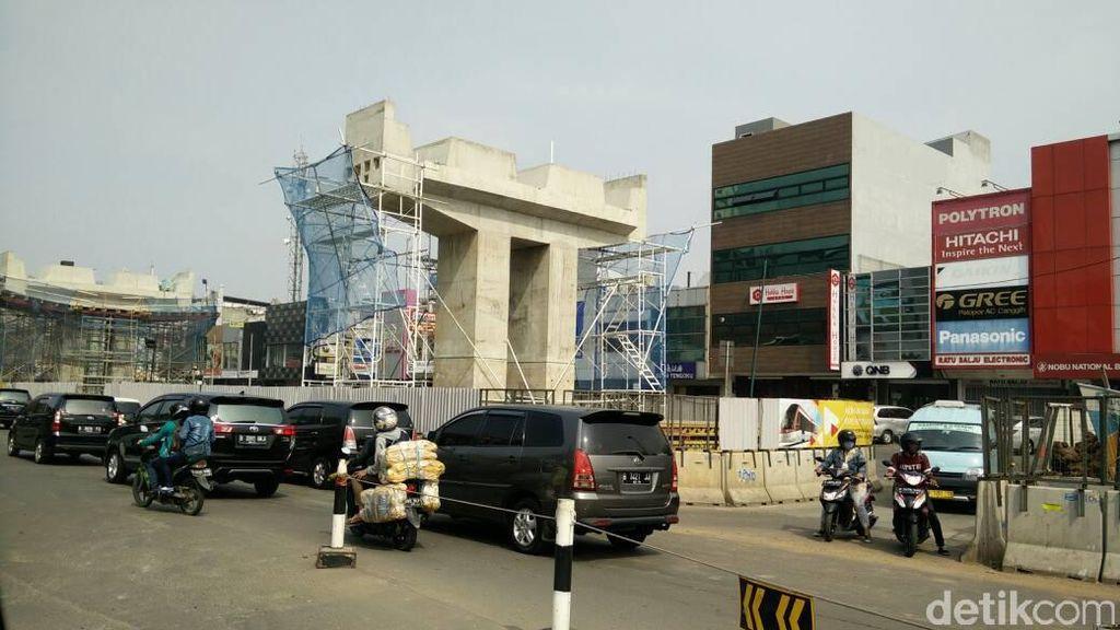 Menengok Perkembangan Proyek LRT Jakarta