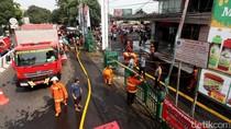 Kondisi Terkini Pasca Kebakaran di Ramayana Pasar Minggu