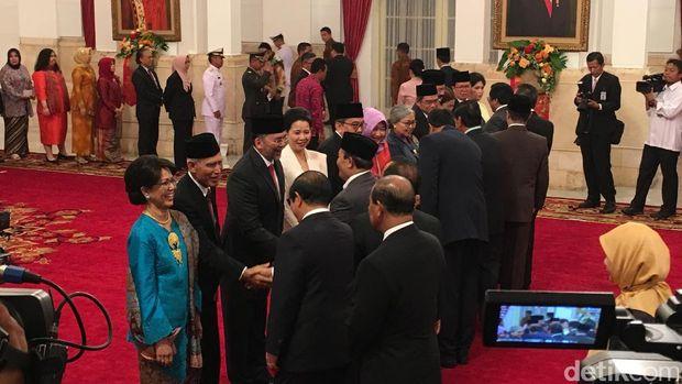 Presiden Jokowi melantik 6 Duta Besar baru.
