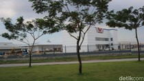 Tampak Pabrik Wuling di Cikarang