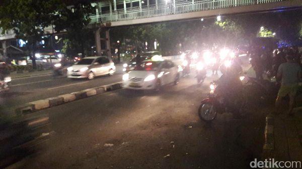 Massa Aksi Bubar, Lalin Depan PT DKI Lancar