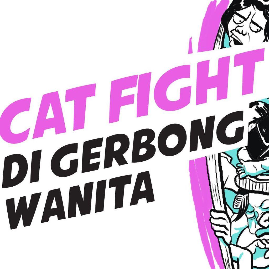 Cat Fight di Gerbong Wanita