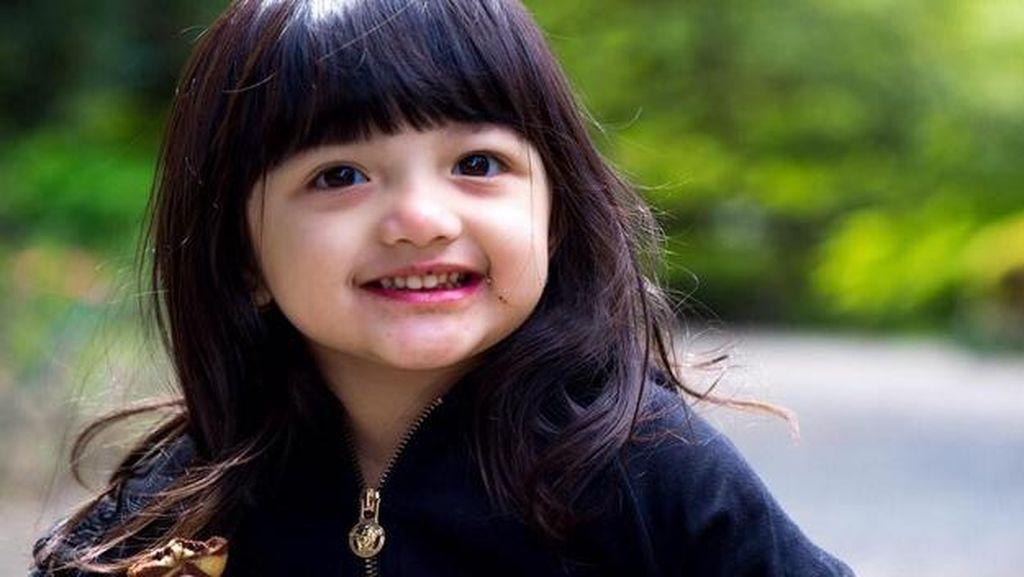 Saat Anak Anang dan Ashanty Minta Sepeda ke Jokowi