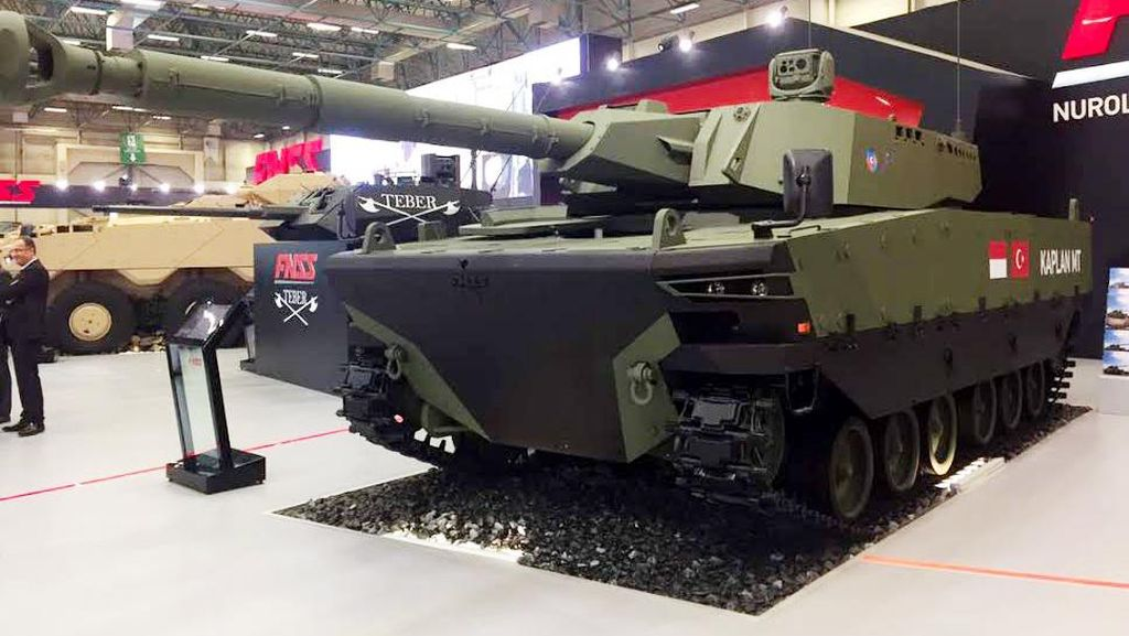 Pindad Mulai Produksi Medium Tank di 2018, TNI Pesan 100 Unit