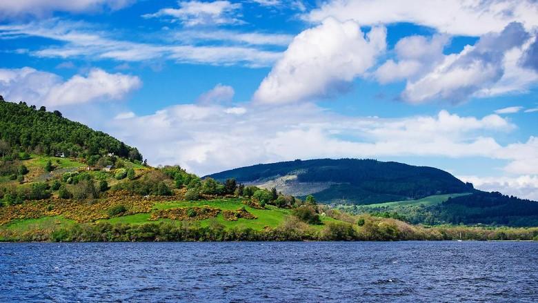 Danau Loch Ness yang indah di Skotlandia (Thinkstock)