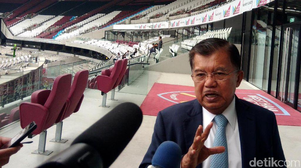 JK Tak Setuju Kursi Pimpinan Parlemen Ditambah