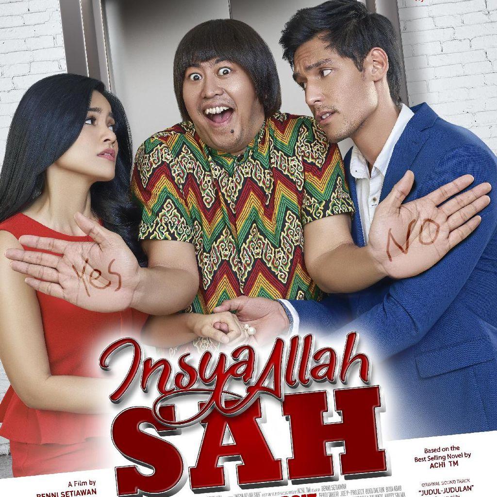 Cerita Rambut Pandji Pragiwaksono di Film Insya Allah Syah