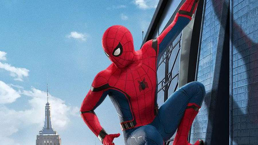 Intip Adegan Tom Holland di Spider-Man Homecoming