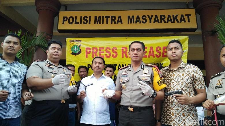 Polisi Tangkap Sindikat Curanmor Asal Lampung di Tanjung Priok