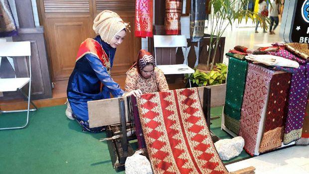 Booth Palembang (Kurnia/detikTravel)