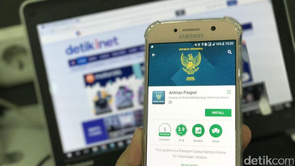 Aplikasi ini Bikin Pembuatan Paspor Bebas Antre