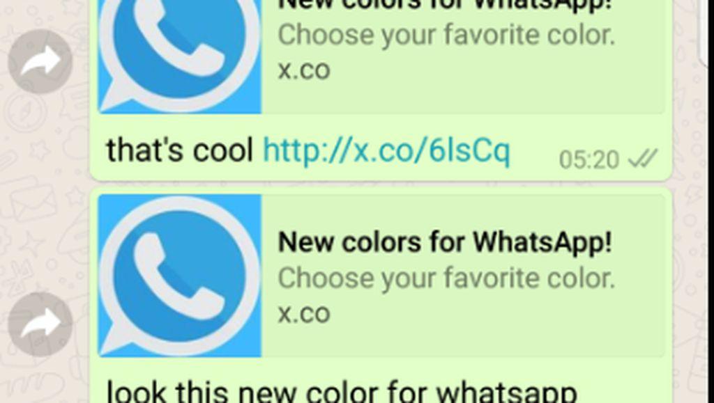New Colors for WhatsApp: Aksi Tipu-tipu Incar Pengguna yang Gagap