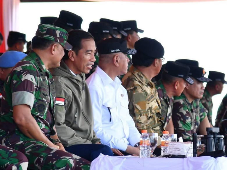 Jokowi: Latihan PPRC Menunjukkan Kesiapan TNI Mempertahankan NKRI